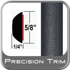 "5/8"" Wide Gray (Dark) Wheel Molding Trim (PT08) Sold by the Foot Precision Trim® #37130-08-01"