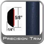 "5/8"" Wide Indigo Ink Wheel Molding Trim 8P4 ( CP22 ), Sold by the Foot, ColorTrim Plastics® # 80-22"