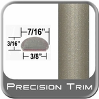 "7/16"" Wide Beige Wheel Molding Trim ( PT33 ), Sold by the Foot, Precision Trim® # 2150-33-01"