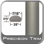 "7/16"" Wide Beige Wheel Molding Trim ( PT48 ), Sold by the Foot, Precision Trim® # 2150-48-01"