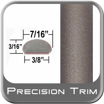 """7/16"""" Wide Beige Wheel Molding Trim ( PT66 ), Sold by the Foot, Precision Trim® # 2150-66"""