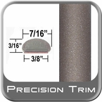 "7/16"" Wide Beige Wheel Molding Trim ( PT66 ), Sold by the Foot, Precision Trim® # 2150-66-01"
