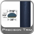 "7/16"" Wide Blue (Dark) Fender Trim ( PT35 ), Sold by the Foot, Precision Trim® # 2150-35-01"