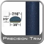 "7/16"" Wide Blue (Dark) Wheel Molding Trim ( PT64 ), Sold by the Foot, Precision Trim® # 2150-64-01"