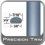"7/16"" Wide Blue (Light) Wheel Molding Trim ( PT30 ), Sold by the Foot, Precision Trim® # 2150-30-01"