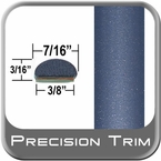 "7/16"" Wide Blue Wheel Molding Trim ( PT06 ), Sold by the Foot, Precision Trim® # 2150-06-01"