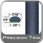 "7/16"" Wide Blue Wheel Molding Trim ( PT34 ), Sold by the Foot, Precision Trim® # 2150-34-01"