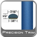 "7/16"" Wide Blue Wheel Molding Trim ( PT41 ), Sold by the Foot, Precision Trim® # 2150-41-01"