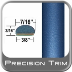 "7/16"" Wide Bright Blue Wheel Molding Trim ( PT81 ), Sold by the Foot, Precision Trim® # 2150-81"