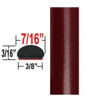 """7/16"""" Wide Cassis Pearl Wheel Molding Trim 3Q7 ( CP26 ), Sold by the Foot, ColorTrim Plastics® # 20-26"""