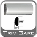 "7/16"" Wide Chrome Wheel Molding Trim Sold by the Foot, Trim Gard® # 0301-01"