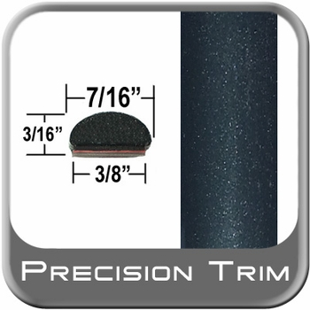 """7/16"""" Wide Dark Green Wheel Molding Trim ( PT95 ), Sold by the Foot, Precision Trim® # 2150-95"""