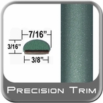 "7/16"" Wide Green Wheel Molding Trim ( PT05 ), Sold by the Foot, Precision Trim® # 2150-05-01"