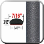 "7/16"" Wide Medium Gray/Tan Metallic Wheel Molding Trim ( CP21 ), Sold by the Foot, ColorTrim Plastics® # 20-21"