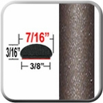 "7/16"" Wide Pyrite Mica Wheel Molding Trim 4T3 ( CP33 ), Sold by the Foot, ColorTrim Plastics® # 20-33"