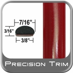 "7/16"" Wide Red (Dark) Fender Trim ( PT42 ), Sold by the Foot, Precision Trim® # 2150-42-01"