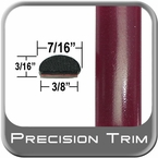 "7/16"" Wide Red (Dark) Wheel Molding Trim ( PT65 ), Sold by the Foot, Precision Trim® # 2150-65-01"