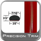 "7/16"" Wide Red Wheel Molding Trim ( PT88 ), Sold by the Foot, Precision Trim® # 2150-88-01"