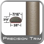 "7/16"" Wide Tan Wheel Molding Trim ( PT96 ), Sold by the Foot, Precision Trim® # 2150-96-01"
