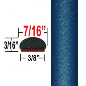 """7/16"""" Wide Oceanus Pearl Wheel Molding Trim 8R9 ( CP69 ), Sold by the Foot, ColorTrim Plastics® # 20-69"""