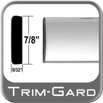 "7/8"" Wide Chrome Body Side Molding Sold by the Foot, Trim Gard® # PP01"