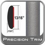 "7/8"" Wide Gray (Light) Molding Trim ( PT91 ), Sold by the Foot, Precision Trim® # 40100-91-01"
