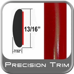 "7/8"" Wide Red Molding Trim ( PT88 ), Sold by the Foot, Precision Trim® # 40100-88-01"