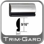"9/16"" Wide Chrome Wheel Trim Sold by the Foot, Trim Gard® # 201"