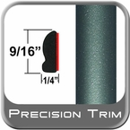 "9/16"" Wide Green (Dark) Wheel Molding Trim ( PT78 ), Sold by the Foot, Precision Trim® # 9150-78-01"