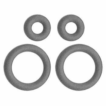 All Sales O-Ring Kit Gray Fits AMI Series 6, 7 & 8 Antennas 4-piece Set #7200G
