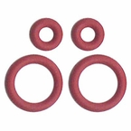 All Sales O-Ring Kit Red Fits AMI Series 6, 7 & 8 Antennas 4-piece Set #7200R