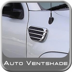 Auto Ventshade AVS Side Fender Vents Predator Style Chrome/Black 2-piece Set #989660