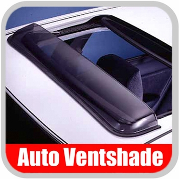 """Auto Ventshade AVS Sunroof Wind Deflector Classic Style Windflector Fits opening up to 35-1/2"""" Wide #77003"""