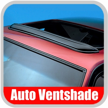 "Auto Ventshade AVS Sunroof Wind Deflector Pop-Out Style Windflector Fits opening up to 34-1/2"" Wide #78061"