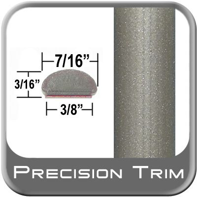 """7/16"""" Wide Beige Wheel Molding Trim ( PT48 ), Sold by the Foot, Precision Trim® # 2150-48"""