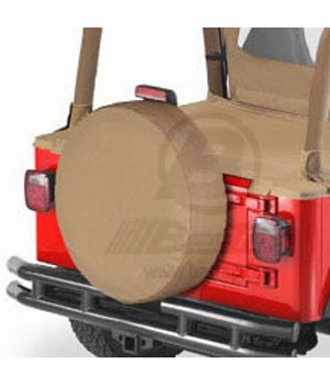 "Bestop Spice Spare Tire Cover Spice Color Small (28"" x 8"") #6102837"