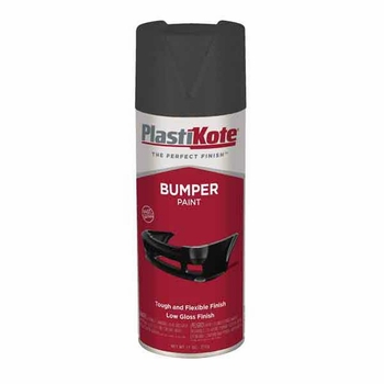 Black Bumper Spray Paint 12 ounce PlastiKote #616
