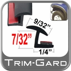 Black Fender Flare Molding Sold by the Foot, Trim Gard® # MHA-TPE-01