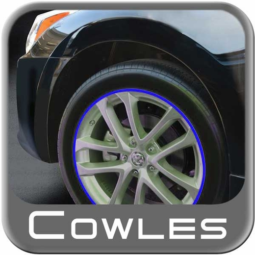 """1/4"""" Wide Blue Wheel Trim Sold by the Foot, Cowles® # 37-521"""