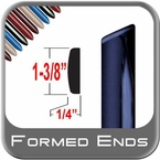 "Body Side Molding 1-3/8"" Wide w/ 4 Formed End Tips Two 7' Strips Trim Gard® #15XXXAT-14"