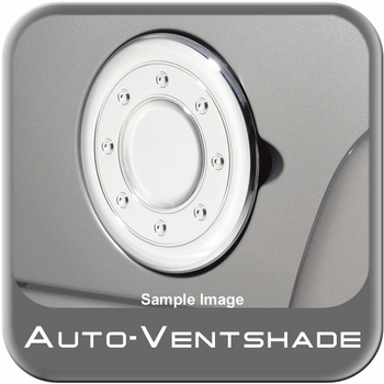 Chevy Avalanche Chrome Fuel Door Cover 1999-2006 Chrome Plated ABS Auto Ventshade AVS #688773
