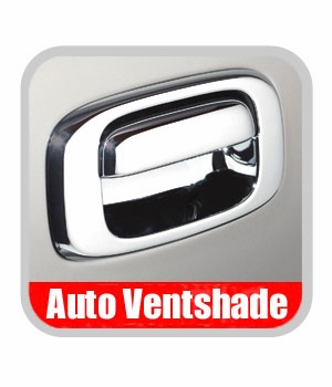 Chevy Silverado Truck Chrome Tailgate Handle Cover 2007-2013 Tailgate Bucket Cover Set Chrome Plated ABS Auto Ventshade AVS #686557