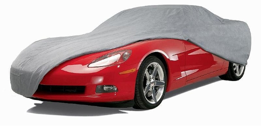 """CoverKing Car Cover Gray Color Triguard Material For Sedans up to 14' 2"""" Long #UVCCAR2I98"""