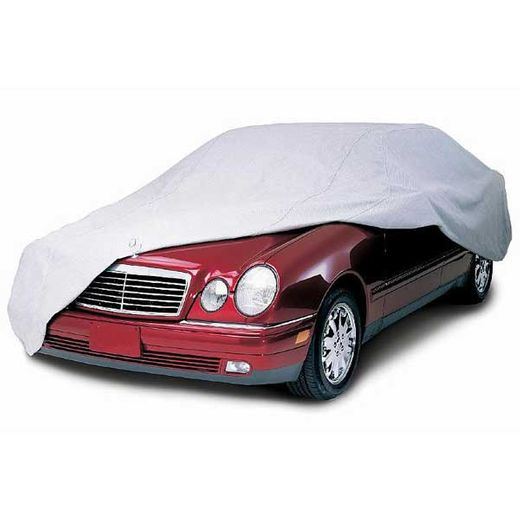 CoverKing Car Cover Gray Color Coverbond 4 Material For Sedans up to 19' Long #UVCCAR4N98