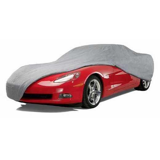 """CoverKing Car Cover Gray Color Triguard Material For Sedans up to 16' 8"""" Long #UVCCAR3I98"""