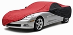CoverKing Custom Car Covers 2-Tone Black Sides w/Red Center Stormproof Material #CVC2SP294