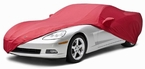 CoverKing Custom Car Covers Red Color Stretch Satin Material #CVC7SS94