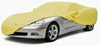 CoverKing Custom Car Covers Yellow Color Stretch Satin Material #CVC2SS93