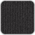 CoverKing Front Dash Cover Black Color Velour Material #CDCV1