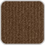 CoverKing Front Dash Cover Brown Color Velour Material #CDCV4